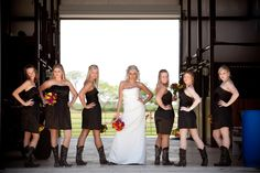 This has me written all over it! I want to do my wedding over again! I sooooo want to do these outfits and get married in a barn! I will be renewing my vows like this!!!!!