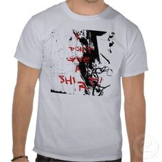I Don't Give a Shi...r...t! grunge T-Shirt