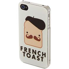 Kling Phone Appetit iPhone 4/4S Case (£9.61) ❤ liked on Polyvore featuring accessories, tech accessories, phone cases, phones, cases, iphone and kling
