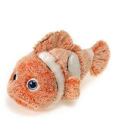 Another great find on #zulily! Orange Marshmallow Clown Fish Plush Toy #zulilyfinds