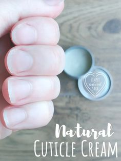 Try this Natural Cuticle Cream to keep cuticles healthy and moisturized! Cuticles are just as important in nail care as your nails! If not properly taken care of they can become dry causing damage such as splitting or peeling. Diy Skin Care, Homemade Skin Care, Natural Nails, Natural Skin Care, Natural Health, Simply Natural, Creme, Nail Care Routine, Natural Beauty Recipes
