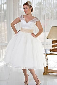 Cute if you are into 2nd dresses.  also like it because of that late 50's early 60's retro look