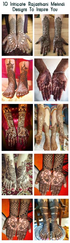 Rajasthani Mehndi Designs :Check out some of the most beautiful Rajasthani mehndi designs.