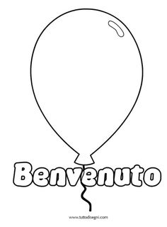 palloncino-benvenuto Class Tree, Usa Tumblr, Teaching Materials, String Art, Coloring Pages, Classroom, Diy, Primers, Activities