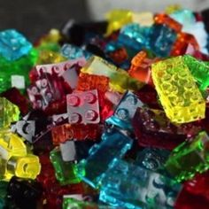 Make Your Own LEGO Gummy Candy