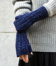 The North Circular Fingerless Gloves