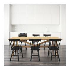ikea esstisch m ckelby i vollholz eiche haus bg pinterest esstisch tisch und esszimmer. Black Bedroom Furniture Sets. Home Design Ideas