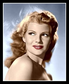 Rita Hayworth Colorized Photo - 1946 Gilda - $5.95 Hollywood Icons, Old Hollywood Glamour, Golden Age Of Hollywood, Vintage Hollywood, Classic Hollywood, Hollywood Divas, Hollywood Hair, Old Hollywood Stars, Hollywood Actresses