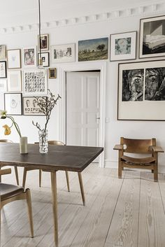 The home of Marianne Mosbæk and Kasper Eistrup - via Coco Lapine Design blog
