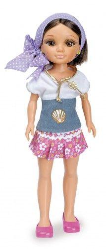 Nancy Brillos en el Mar: camiseta con concha. #Nancy #dolls #muñecas #poupeés #juguetes #toys #bonecas #bambole #ToyStore