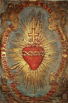Religious Images, Religious Icons, Religious Art, Catholic Religion, Catholic Art, Coeur Tattoo, Catholic Wallpaper, Sacred Heart Tattoos, Brust Tattoo