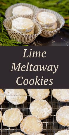 These Lime Meltaway Cookies are a great addition to any cookie tray. A simple little shortbread cookie with a kiss of lime! They're easy to make and the recipe makes a large batch.