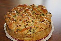 Knoblauch - Faltenbrot, ein leckeres Rezept aus der Kategorie Brot und Brötchen. Bewertungen: 491. Durchschnitt: Ø 4,7.