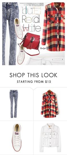 """""""Casual Style"""" by pokadoll ❤ liked on Polyvore featuring Converse, MANGO, polyvoreeditorial and polyvoreset"""
