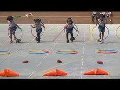 Sports Day for Pre-primary Chitrakoota School, Bangalore - YouTube