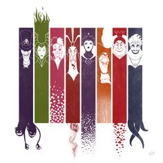Love this graphic of the villains