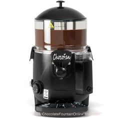 The Versatile Hot Chocolate Machine Produces Delicious Beverages, Get your own high quality commercial hot chocolate dispenser machine Chocolate Fountain Machine, Chocolate Fountain Recipes, Chocolate Fountains, Kebabs, Churros, Crepes, Polar Express Party, Blackberry Syrup, Fruit Tea