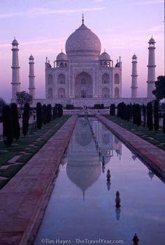 Taj Mahal in India I've always wanted to see it Places Around The World, Oh The Places You'll Go, Travel Around The World, Places To Travel, Places To Visit, Taj Mahal, Monuments, Wonderful Places, Beautiful Places