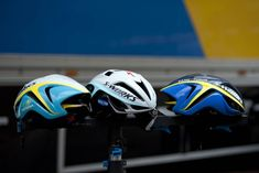 Tour Tech: Specialized's new Evade helmet is intended to keep rider's heads cool while also providing aero benefit.