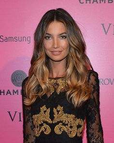 Getting my hair coloured like this tomorrow night!! :) Ombre Hair - Lily Aldridge