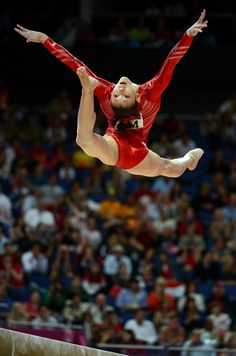 USA's Kyla Ross competes on the balance beam for the Women's Gymnastics Team finals at North Greenwich Arena for the London 2012 Olympics in London, England on Tuesday, July 31, 2012. (Nhat V. Meyer/Mercury News)