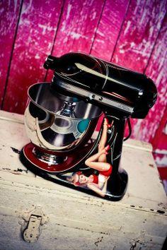 custom kitchenaid mixers | Custom painted Kitchen Aid mixers ... | Kitchenaid Mixers :)))