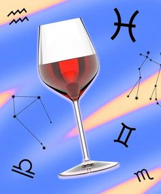 The Best Wine For Your Star Sign, According To The Experts Capricorn Goat, Taurus And Gemini, Sauvignon Blanc, Pinot Noir, Wine Education, Bottle Shop, Growing Grapes, Fire Signs, Let Your Hair Down