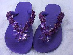 chinelos decorados (3) by Haemarc, via Flickr