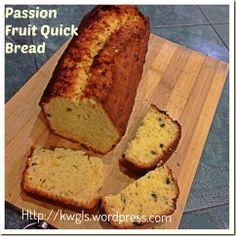 A Healthier Alternative Than Cake – Passion Fruit Quick Bread | GUAI SHU SHU