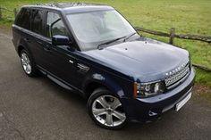 used Land Rover Range Rover Sport SDV6 HSE BLACK in surrey