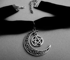 alternative - goth - gothic - pagan - wicca - witch - choker
