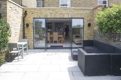Fulham in Fulham, Greater London, Side Extension, Kitchen Extension, Victorian Terraced House, Bi-Fold Doors, Kitchen, Rear Extension, Roof-lights, Glass Roof, Kitchen, Pitched Roof, Side Return Ideas, Kitchen Extension Ideas