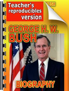 Elementary-level biography of George H. W. Bush. Find out about his life and legacy!