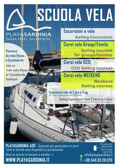 Sailing courses and escursions in Sardinia, here we are !