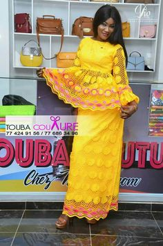 African Print Fashion, African Fashion Dresses, African Attire, African Wear, African Women, African Dress, Farrow Ball, Style Africain, Kente Styles