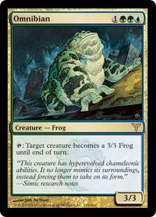 Omnibian - Magic the Gathering card