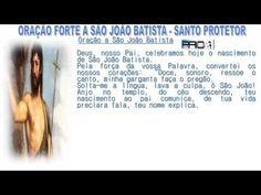 ORAÇÃO FORTE A SÃO JOÃO BATISTA - SANTO  PROTETOR theraio7