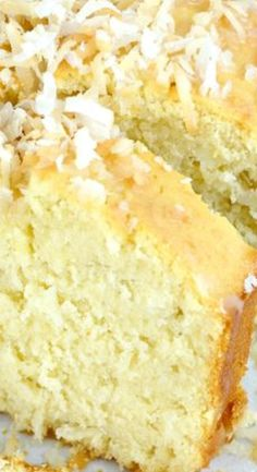 Coconut Buttermilk Cake.
