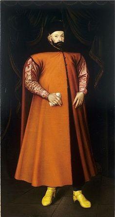 Portrait of King Stephen Bathory. Date 1583 ПОЛЬСКИЙ НАЦИОНАЛЬНЫЙ КОСТЮМ