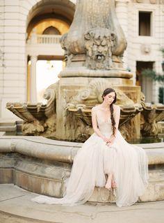Soft and Elegant Wedding Inspiration via oncewed.com