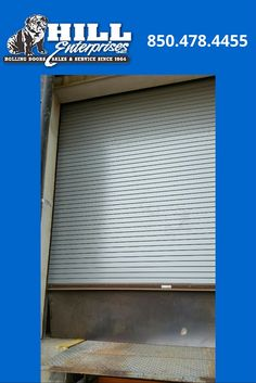 AFTER Photo   Cookson Door Repair. 20 Slats At Loading Dock. Saved The  Customer