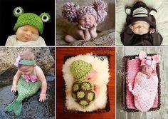 Bébés chapeaux