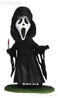 Scream 4 Ghost Face BobbleHead Doll