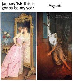 Medieval Memes, Renaissance Memes, Funny Laugh, Hilarious, Art History Memes, Classical Art Memes, Art Jokes, Funny Art, Mood Pics