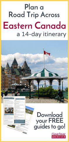Thinking about a canada road trip? this 14 day itinerary takes you from montreal to New Travel, Canada Travel, Travel Plan, Future Travel, East Coast Road Trip, Visit Canada, Travel Guides, Travel Tips, Travel Destinations