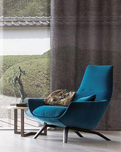 ERMES Velvet armchair by MisuraEmme design Mauro Lipparini