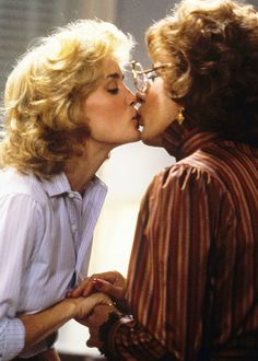 """Jessica Lange and Dustin Hoffman in """"Tootsie"""""""