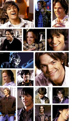 [gifset] #Sam smiling <3 #SPN (Click through for full set)
