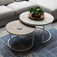 Brix Salontafel 'Freddy' set van 2 stuks Decor, Furniture, Table, Home, Coffee Table, Home Decor, Settings
