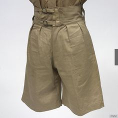 Shorts, Tropical Khaki Drill: British